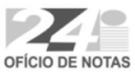 24 Serviço de Notas